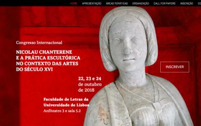 """Congresso Internacional """"Nicolau Chaterene e a Prática Escultórica no Contexto das Artes do Século XVI"""""""