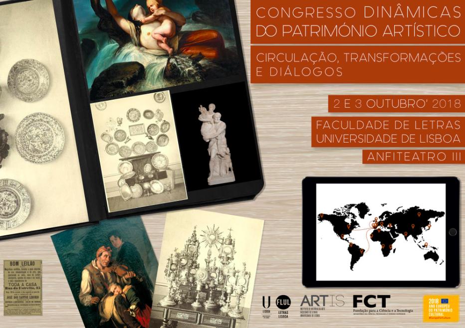 Dinâmicas do Património Artístico: Circulação, Transformações e Diálogos | Data limite: 28 de Fevereiro.