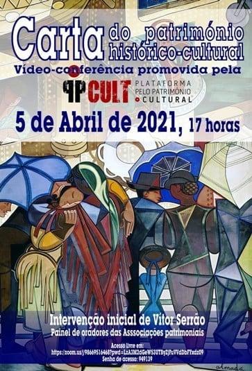 """Conferência """"Carta de Direitos e Deveres Património Cultural Português"""""""