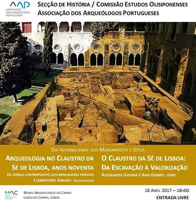 Conferências sobre o Claustro da Sé de Lisboa