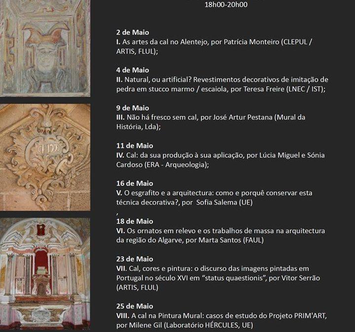 """Curso Livre """"As 'Artes da Cal' em Portugal: Estudo, Análise e Reabilitação"""""""