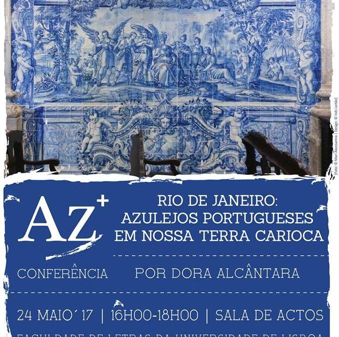 """Az+ """"Rio de Janeiro: Azulejos Portugueses em Nossa Terra Carioca"""""""