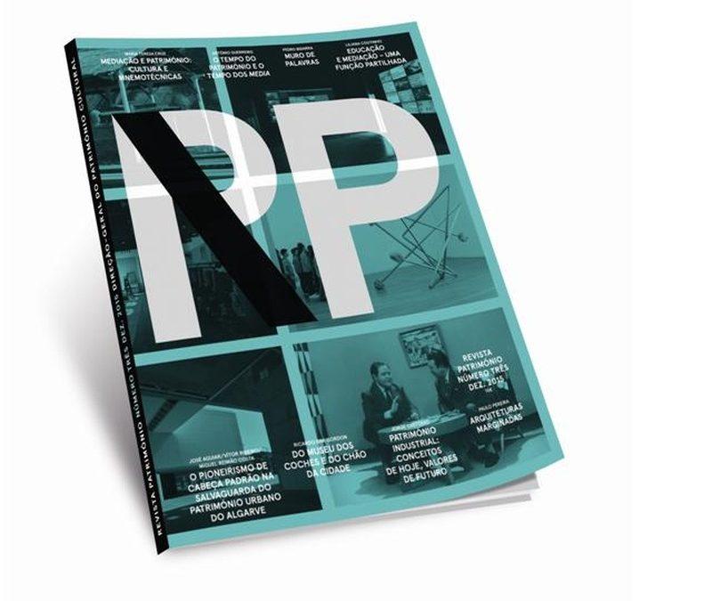 """Apresentação da RP – Revista Património"""" N.º 3"""