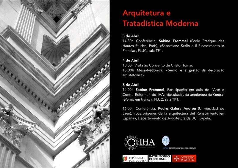 Conferências sobre Arquitectura e Tratadística Modernas