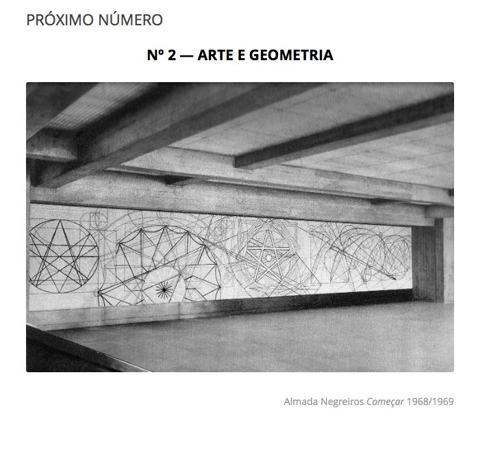Arte e Geometria, revista Convocarte