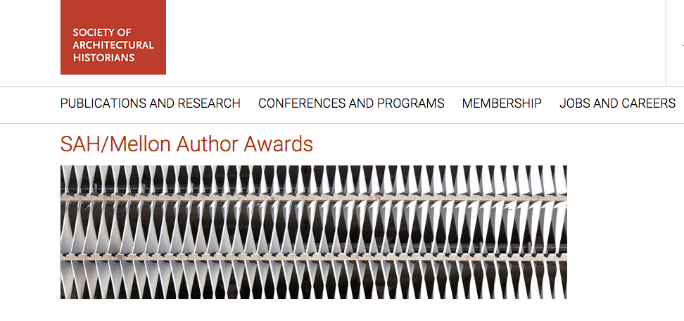 SAH/Mellon Author Awards