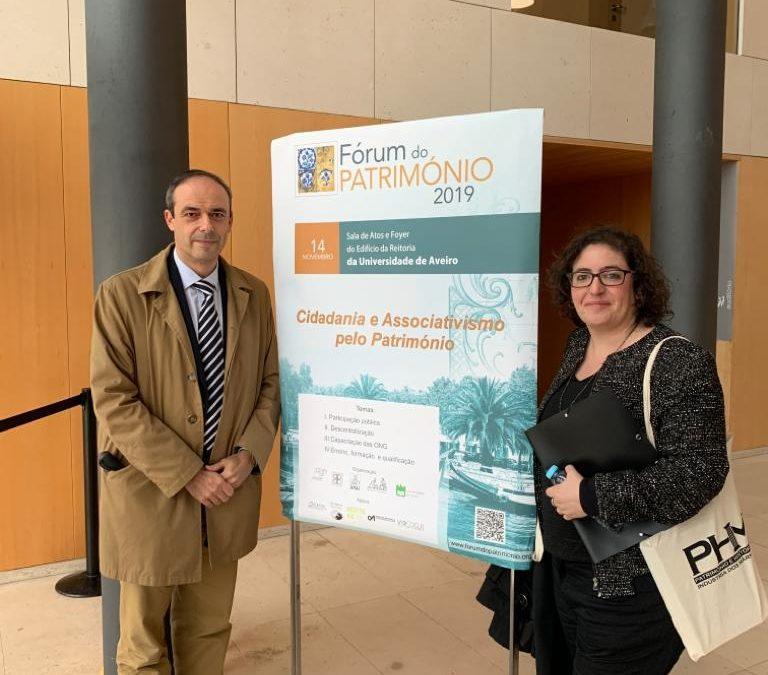 Participação da APHA no Fórum do Património 2019