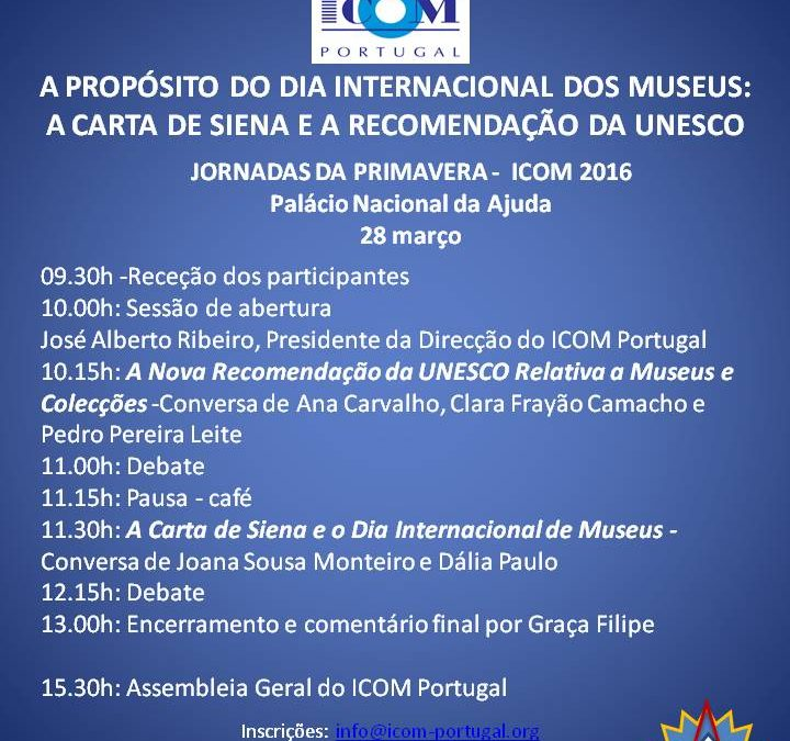 Jornadas de Primavera do ICOM Portugal