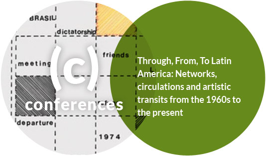 "International Conference ""Through, From, To Latin America: Networks, Circulations and Artistic Transits from the 1960s to the Present"""