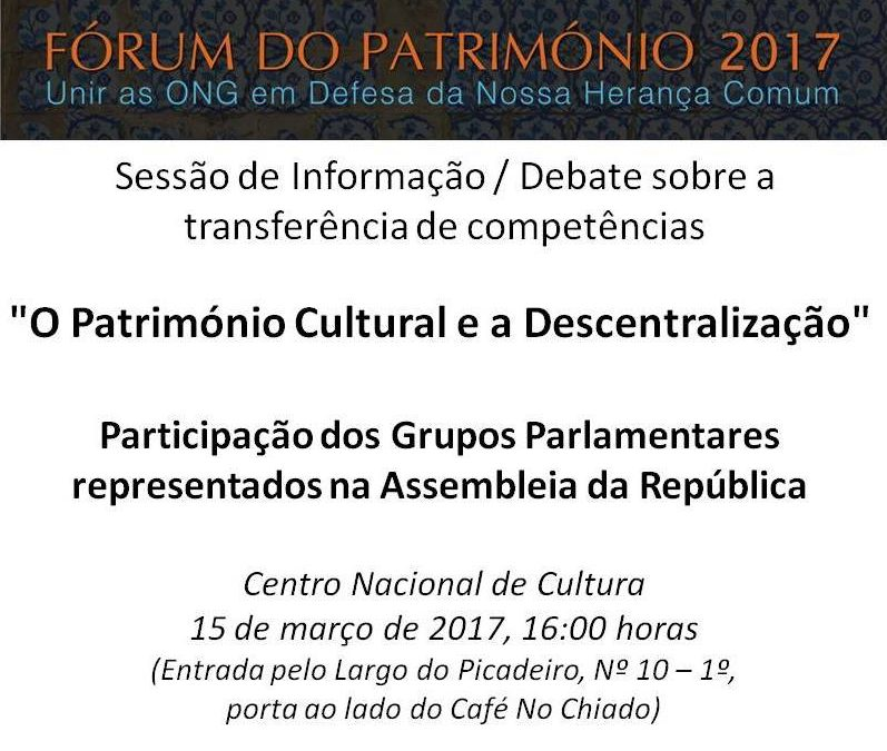 Fórum do Património 2017