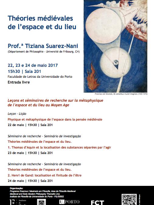 "Seminários ""Théories Médiévales de l'Espace et du Lieu"""