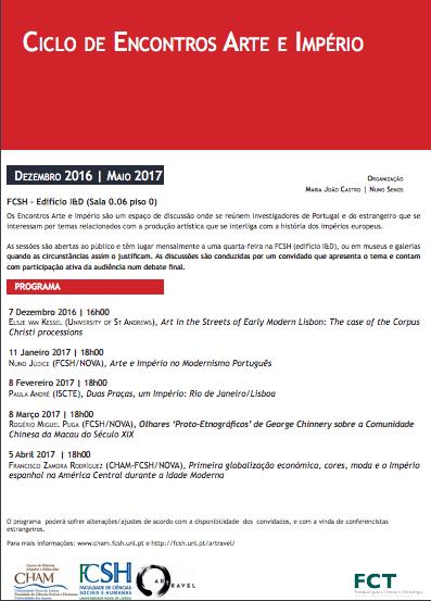 """Conferência """"Arte e Império no Modernismo Português"""""""