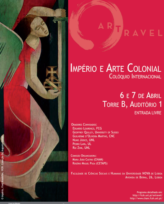 """Colóquio """"Império e Arte Colonial"""""""