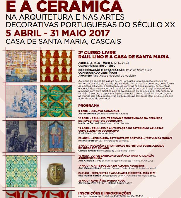 Raul Lino e a Cerâmica na Arquitetura e nas Artes Decorativas Portuguesas do Século XX