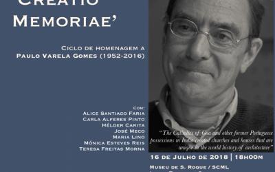 Ciclo de homenagem a Paulo Varela Gomes (1952-2016)