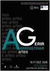 """Colóquio """"Administrar e Gerir Artes"""" / Coimbra"""