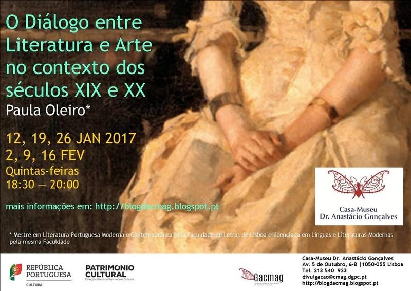 "Curso Livre ""O Diálogo entre Literatura e Arte no Contexto dos Séculos XIX e XX"""