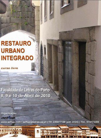 Curso Livre de Restauro Urbano Integrado