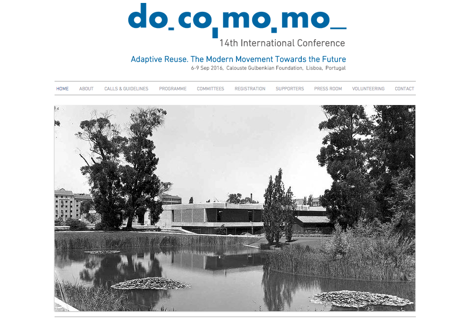 DOCOMOMO 14th International Conference: Adaptive Reuse. The Modern Movement Towards the Future